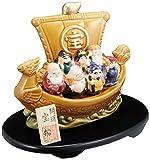 開運七福神宝船 [18cm 600g] 【縁起】 | 料亭 旅館 和食器 飲食店 おしゃれ 食器 業務用