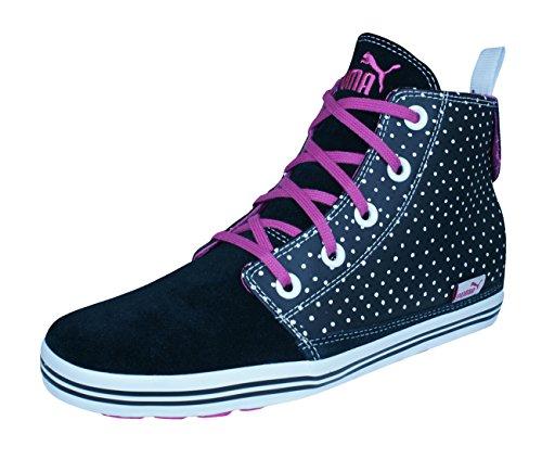 Puma Tatau Nu Mid Womens Leather Sneakers Hi-Tops-...