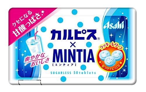 アサヒグループ食品 カルピス×ミンティア 50粒×10個
