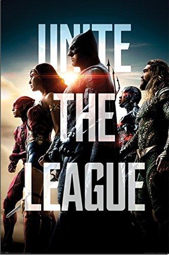 映画ポスター ジャスティスリーグ Justice League UK版 uk1 [並行輸入品]