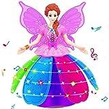 finerine Girl Dancing Princess多機能音楽人形LEDペット電子ロボット