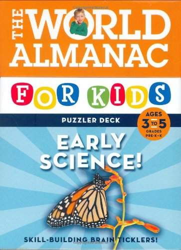World Almanac Puzzler Deck: Early Science Early Reading, Ages 3 to 5, Grades PreK-1