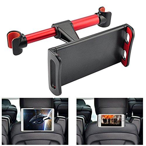 車用 後部座席 360度回転式 ヘッドレスト マウント iP...