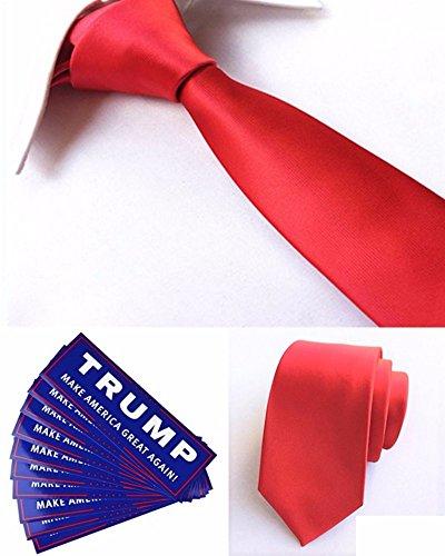 【未来ワールド】 MW-99 ドナルド トランプ大統領 風 仮装 変装 ハロウィン コスプレ 赤ネクタイ & トランプラベルシール(MAKE AMERICA GREAT AGAIN!)