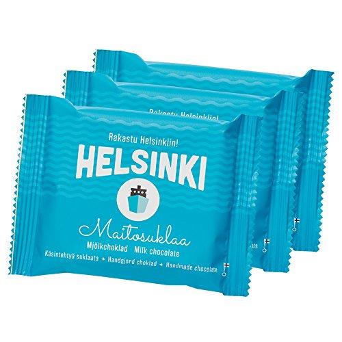 フィンランドお土産 ヘルシンキ ミルクチョコレート 3個セット