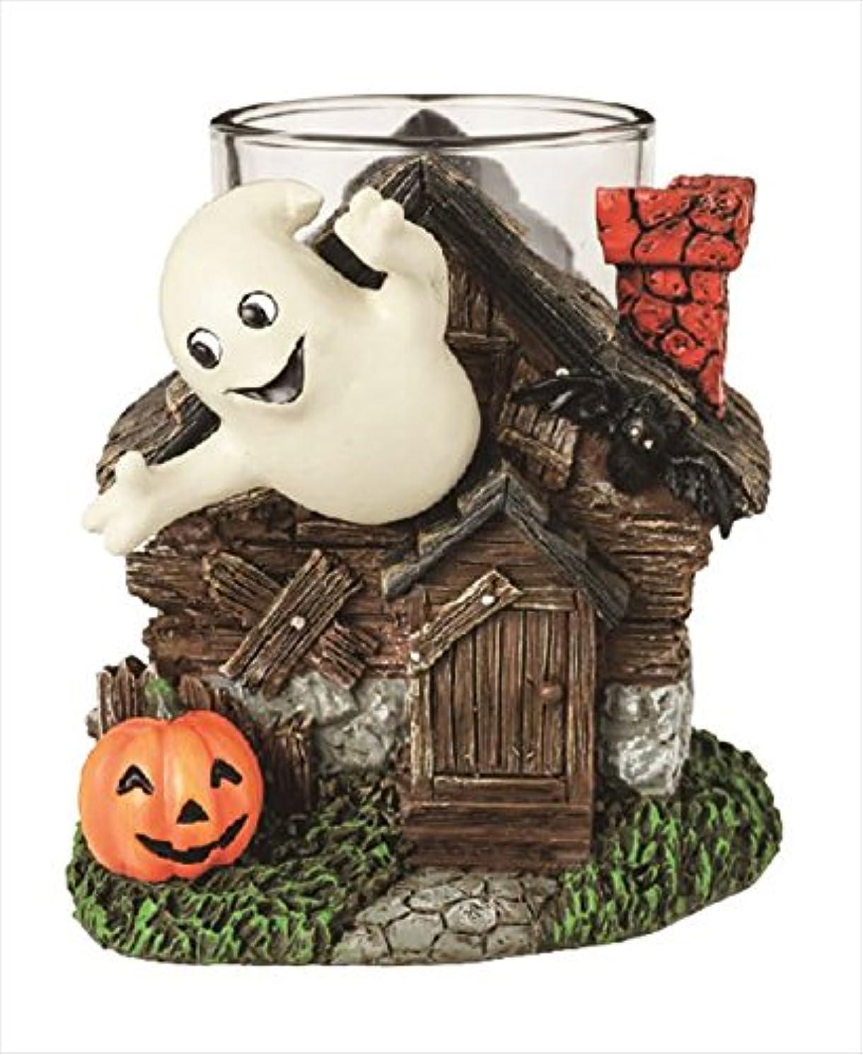 施しわずかな逃げるカメヤマキャンドル(kameyama candle) ハロウィンゴーストキャンドルホルダー