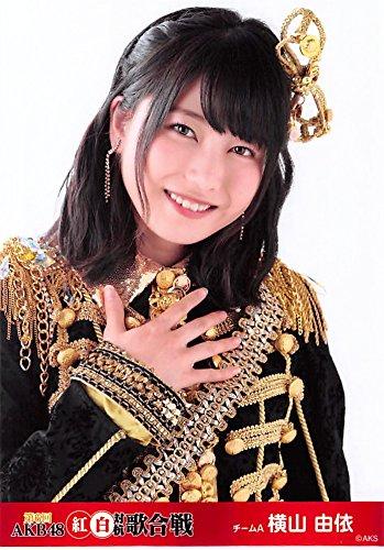 【横山由依】 公式生写真 第6回 AKB48 紅白対抗歌合戦 ランダム A
