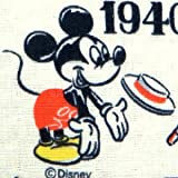 ダブルガーゼ生地 二重ガーゼ生地 Wガーゼ 生地 ミッキーマウス ドナルドダック チップデール プルート (50cmから注文可) (価格は10cmの価格)