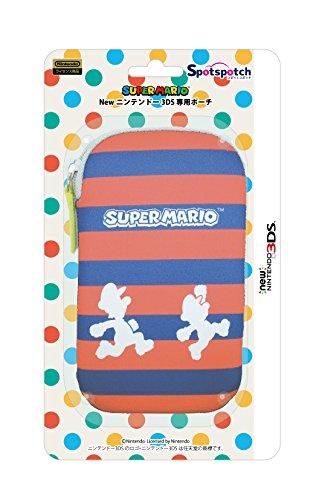 New 3DS専用ポーチ Spotch (スポッチ) シルエ...