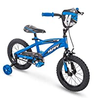 Huffy 14 MotoX Boys Bike Gloss Blue 【You&Me】 [並行輸入品]