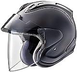 アライ (ARAI) ジェットタイプヘルメット VZ-ラム プラス (VZ-RAM・PLUS) フラットブラック 55-56cm VZRAM-PLUS_FB55