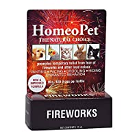 HomeoPet ANXIETY TFLN Homeopathic Calming Aid Thunderstorms Loud Noises Dog Cat