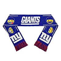 Forever Collectibles New York Giants Teamoji Acrylic Scarf スポーツ用品 No_Size 【並行輸入品】