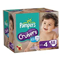 Pampers Cruisers Diapers Big Pack Size 4 68 Count by Pampers