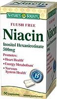 海外直送品Natures Bounty Flush Free Niacin, 50 caps by Nature's Bounty