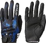 adidas(アディダス) 野球 男女兼用 守備用手袋 片手用 5Tフィールディンググローブ DMU64 ブルー×ホワイト(BS1253) LHL