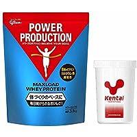 Glico(グリコ)Kentai(ケンタイ) グリコ マックスロードホエイプロテイン3.5kg サワーミルク味+Kentaiプロテインシェーカーセット G76013-K005