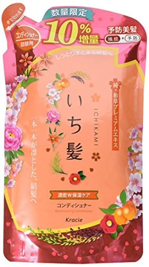 広大な甘美なポンペイいち髪濃密W保湿ケアコンディショナー詰替10%増量品
