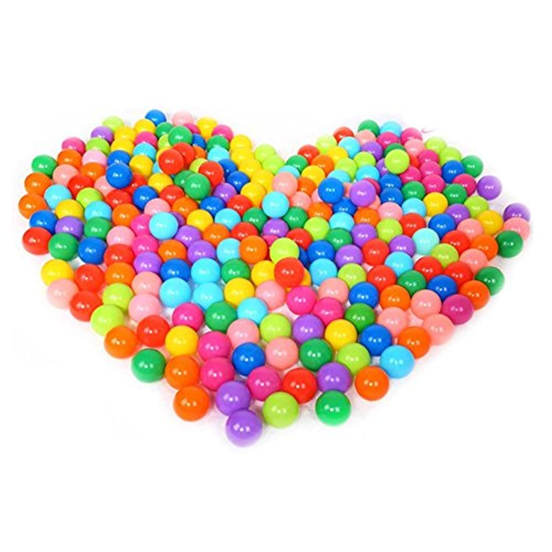 Swim Toysボール、Maple _ Leaf 50個カラフル楽しいボールソフトプラスチックベビーキッドおもちゃSwim Pit 5.5 CMオーシャンボールトイ