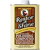 Howard Products RS0016 Restore-A-Shine Polishing Compound, 16-Ounce