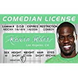 Signs 4 Fun Nidckh Kevin Hart's Driver's Licence