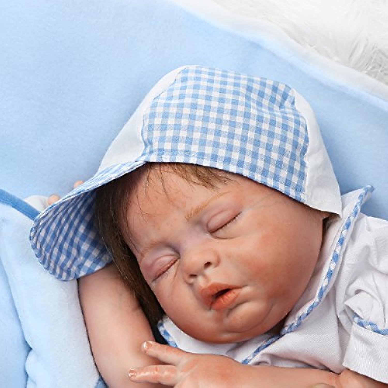 SanyDoll Rebornベビー人形ソフトシリコン21インチ52 cm磁気Lovely Lifelike Cute Lovely Baby b0763lfm4y