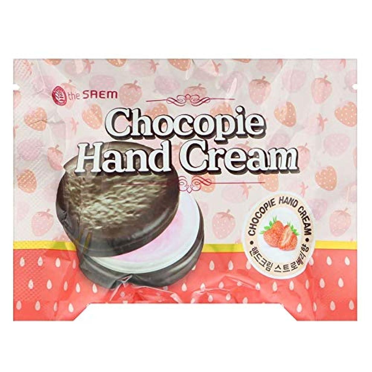 タクシー樹木気づかない【the SAEM】ザセム チョコパイ ハンドクリーム[ストロベリー] CHOCOPIE HAND CREAM 35ml 韓国コスメ ザセム ハンドクリーム
