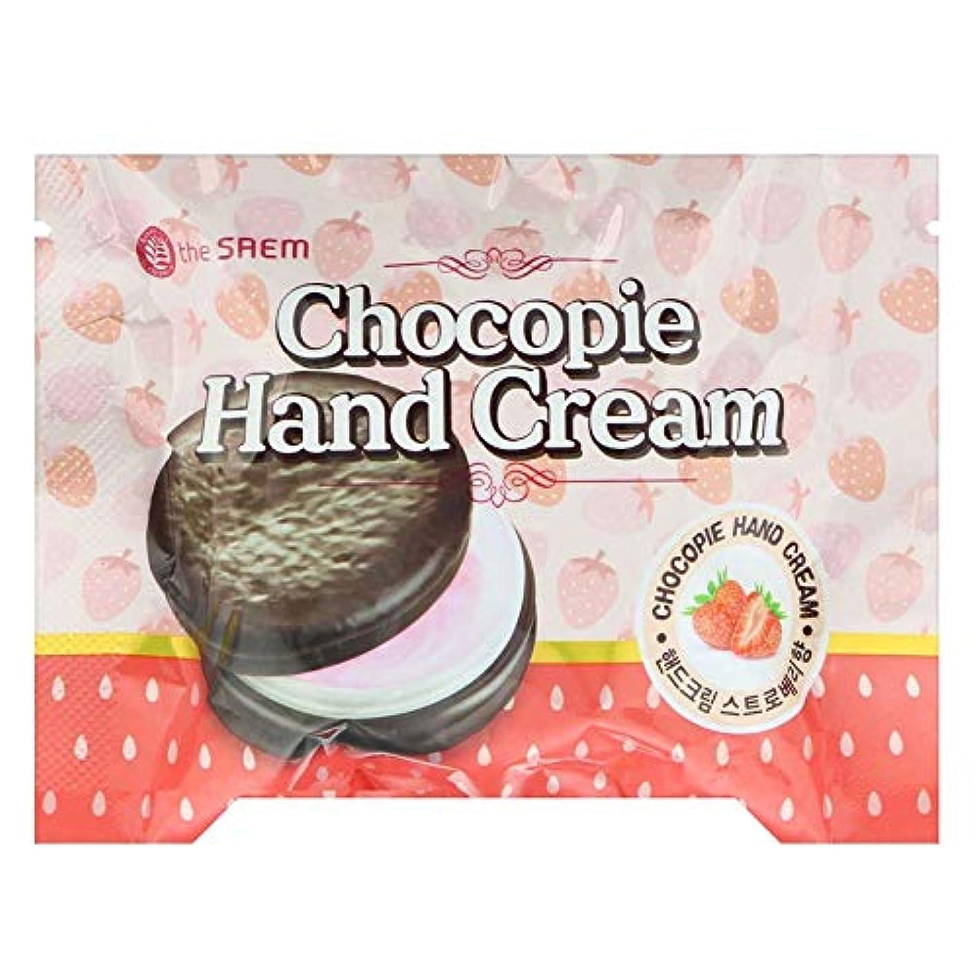 横に成分リングバック【the SAEM】ザセム チョコパイ ハンドクリーム[ストロベリー] CHOCOPIE HAND CREAM 35ml 韓国コスメ ザセム ハンドクリーム