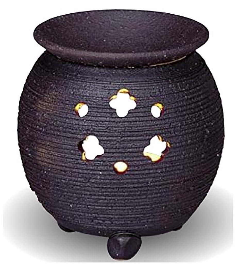 純粋に問い合わせるファーザーファージュ常滑焼 茶香炉(アロマポット)径10×高さ10.5cm