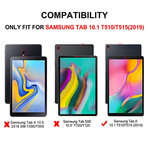 Samsung Galaxy TAB A 10.1 2019 Screen Protector Glass, IVSO Premium 9H Hardness HD Tempered-Glass Film Screen Protector for Samsung Galaxy TAB A 10.1 2019 Tablet, 2 Pack