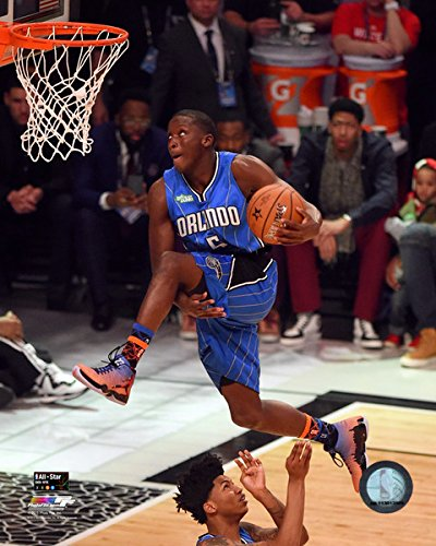 "Victor Oladipo Orlando Magic Nba Slam Dunk Contestフォト(サイズ: 8 "" x 10 "" )"