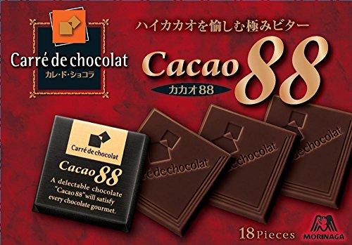森永製菓  カレ・ド・ショコラ<カカオ88>  18枚×6個