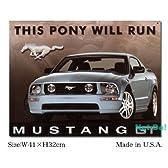 アメリカンブリキ看板 フォード マスタングGT 20061202