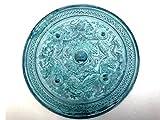 八咫鏡(やたのかがみ)緑青風(ろくしょうふう)