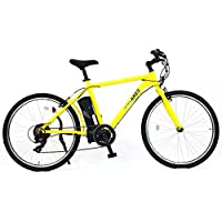 AIJYU CYCLE 電動クロスバイク 軽量アルミフレーム パスピエ ARES【アレス】シマノ6段ギア 26インチ 電動アシスト自転車 リチウムイオンバッテリー 型式認定車両(TSマーク)