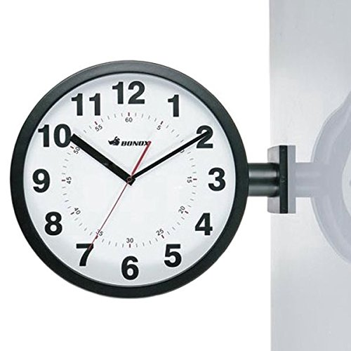 RoomClip商品情報 - DOUBLE FACES WALL CLOCK (ブラック)