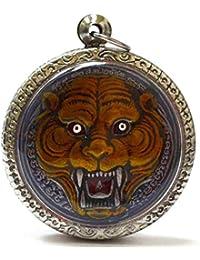 タイ式マジックTigerペンダントAmulets Magic Tiger Lp Pern、生活保護