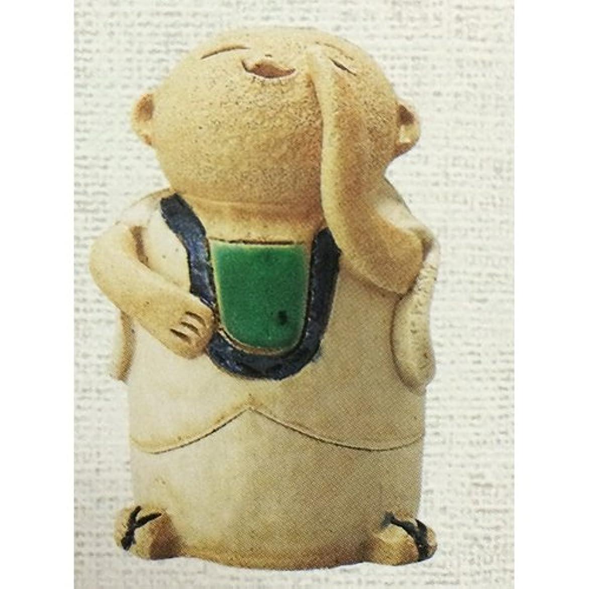 お地蔵さん 呼び掛け地蔵 香炉(小) [R6xH10cm] HANDMADE プレゼント ギフト 和食器 かわいい インテリア