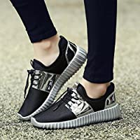 Haoricu-Shoes Men's Athletic Shoes Running Sneakers Mesh Beathable Lace-up Sport Casual Shoes