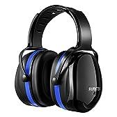 AVANTEK 防音イヤーマフ 遮音値34dB 金属なし 耐摩素材 超弾力性ヘッドバンド ANSI S3.19&CE EN352-1認証済み 聴覚保護 (ブルー)