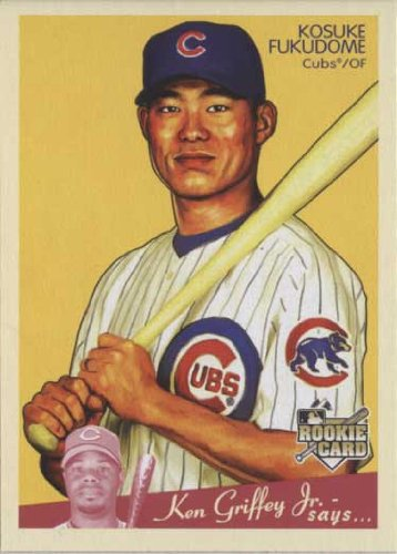 【MLB】福留孝介 2008 Upper Deck Goudey Rookie Card Kosuke Fukudome