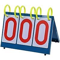 SODIAL(R)多目的スポーツナレッジコンテスト用3桁フリップスコアボード