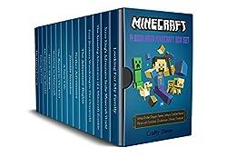 Minecraft: 14 Book Mega Minecraft Box Set: Minecraft Wimpy Zombies, Minecraft Creeper, Minecraft Steve, Minecraft the island, Minecraft Enderman, Minecraft Wimpy Ender Dragon, Minecraft Crash by [Steve, Craft ]