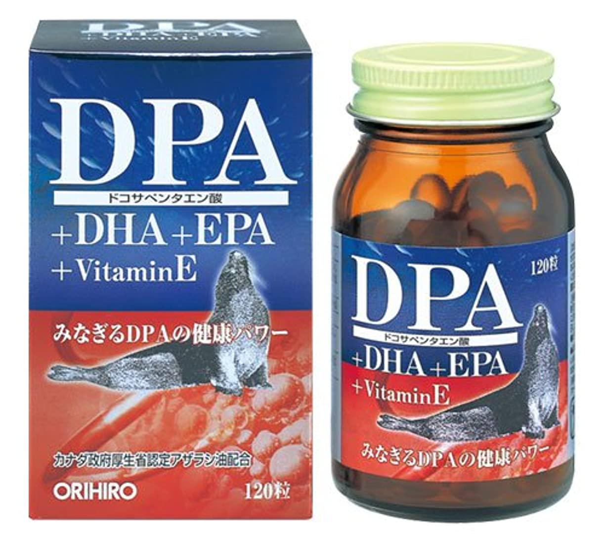 一回粘り強いお嬢DPA+DHA+EPAカプセル 120粒(約1ヶ月分)