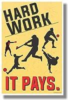 ハード作業–It Pays新しい教室(スポーツ)–Motivational Poster