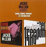 Swing Swang Swingin / Let Freedom Ring [2 LPs on 1 CD] by Jackie Mclean