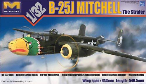 HK MODEL 1/32 B-25J ストレイファー