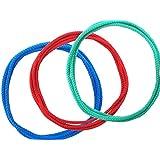 あやとりひも(ノーマルタイプ) 3本セット 子供用 (赤/青/緑) 140cm ゆうパケット便 結び目のない輪 あやとり専用 アクリル 森製紐(もりせいちゅう) オリジナル