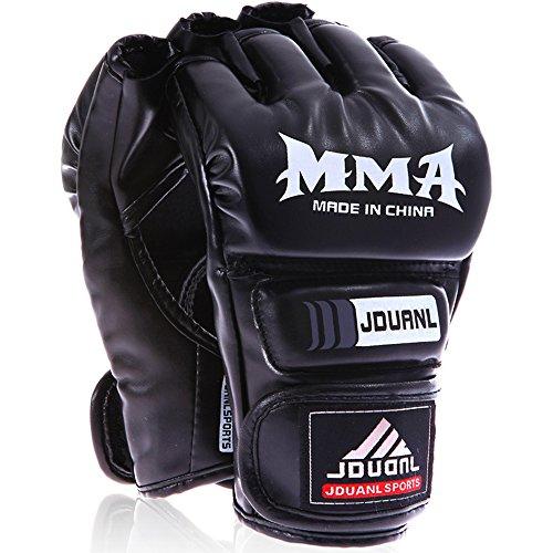 LangRay ハーフフィンガー グローブ 手袋 MMA 総合格闘技 ボ・・・