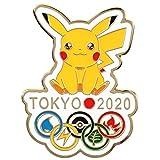 TOKYO2020 ポケモン ピカチュウ ナルト ピンバッジ 2点セット